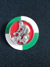 Art Deco French Bakelite and Chrome Pins from 1920's French Olympic Games