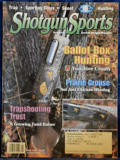 Rare Vintage Magazine SHOTGUN SPORTS MAY 1997 !!! Recipe: GROUSE CASSEROLE !!!