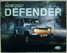 LAND ROVER DEFENDER Sales Brochure 2007 MODEL #2333/06