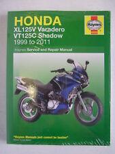 Honda Haynes Manual Xl125 Varadero vt125 Shadow Vt Xl