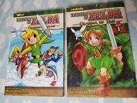 Legend of Zelda: Ocarina of Time & Phantom Hourglass - manga comics 2008