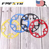 US Chainring 104BCD 32-42T MTB Road Bike Chian Protect Round Oval Crank set CNC