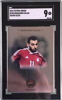 Mohamed Salah 2014 Futera Unique Next Rookie Silver SSP 52/55 SGC 9 Mint