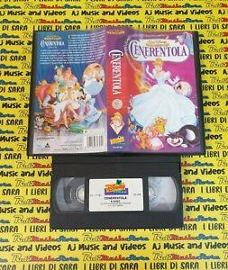 VHS film CENERENTOLA animazione 1998 WALT DISNEY VS 4745 classici*(F125*)*no*dvd