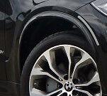 "BMW Brand Genuine F15 X5 2014+ Black Wheel Arch Extension Kit For 20"" 21"" Wheels"