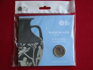 2019 Wedgwood 260th Anniversary UK £2 Brilliant Uncirculated Coin BUNC