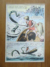 """PLANCHE ORIGINALE MON JOURNAL """"YATACA"""" N° 7 FERDINANDO TACCONI 1968 Page 36"""