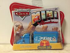 Disney Pixar CARS 1 MINI ADVENTURES Piston Cup Racing Series GRAY HAULER (Rare)