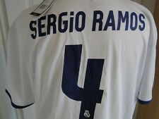 REAL MADRID  LEAGUE HOME SHIRT ** SERGIO RAMOS **  2016-17 BNWT SIZE XX LARGE