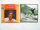 "LOT 2 LP 33T JEAN FERRAT ""Eponyme"" FRANCE /"