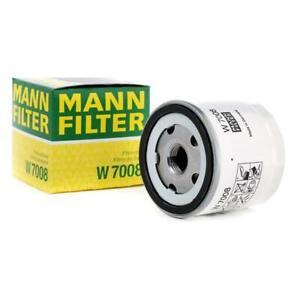 Mann-filter Oil Filter W7008 fits FORD AUSTRALIA FIESTA WS 1.6 i 1.4 i