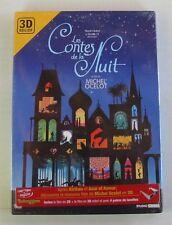 DVD LES CONTES DE LA NUIT - Michel OCELOT - 2D - 3D RELIEF 4 LUNETTES - NEUF
