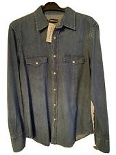 *TOM FORD Denim Shirt - Size 16 Collar - New With Tags*