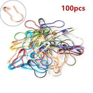 Gourd Shape Safety Pins Metal Clips Tag Pins Clips for DIY Clothing Kits