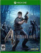 NEW Resident Evil 4 (Microsoft Xbox One, 2016)