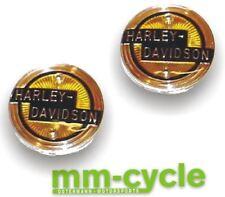 Harley-Davidson Panhead Tankschilder FL 1958 Embleme Tankembleme 61773-58t NOS