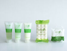 Nourish Hotel Amenity Guest Room 5 Piece, Shampoo, Conditioner, Lotion & 2 soaps