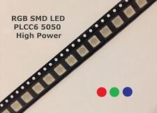 SMD RGB LED 5050 PLCC6 High Power sehr hell Licht 3 Chip Arduino Ambient NEU