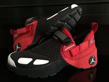 purchase cheap b3bfd dbe5c NIKE AIR JORDAN TRUNNER LX OG CHICAGO BULLS BLACK RED BASKETBALL SHOES 10  QS DS