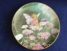 "Villeroy & Boch/Heinrich Flower Fairies Collection ""The Candytuft Fairy "" plate"