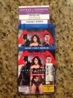 Batman v Superman:Dawn of Justice(Blu-ray Disc,2016,3-Disc,Ultimate Ed)Authentic