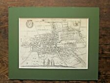 1612 Town Plan Den Haag The Hague Netherlands Guicciardini Blaeu Antique Map