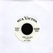 "Roy Gaines / Bob Callaway - Skippy Is A Sissy / (Vinyl 7"" - 2011 - UK - Reissue)"