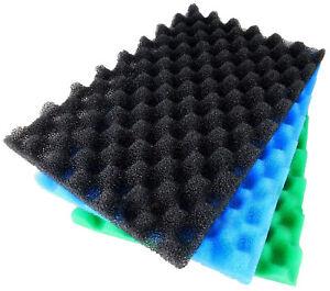 Lotus Green Genie 48000 Replacement Foam Sponge Fish Filter Media Set Koi Pond