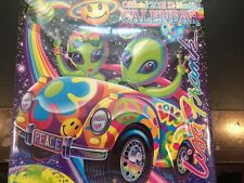 Aliens,Unicorns And More From Lisa Frank 2021 Calendar -12 Months Free Postage