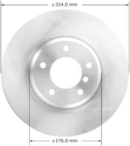 Disc Brake Rotor-Sedan Front Bendix PRT6012