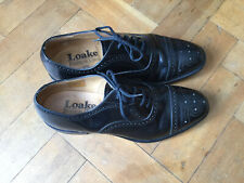 Loake Business Class 201B. Black Men's Shoes. Lace Ups. All Leather. Size  Uk 8.
