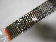 12 Easton Full Metal Jacket FMJ 5mm 340 Arrow Raw Shafts! Carbon/Aluminum arrows