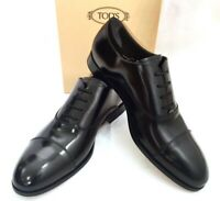 "TOD'S ""FRANCESINA"" Schuhe Shoes Scarpe Leder Leather schwarz black nero NEU BOX!"