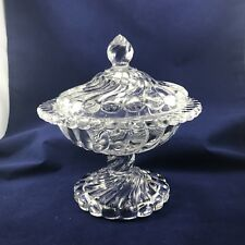 Vintage Fostoria Colony Glass - Small Compote With Lid - Elegant Glass