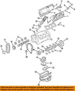 GM OEM-Engine Crankshaft Crank Main Bearing 89060551