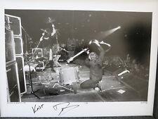 Nirvana signed photo #1 Cow Palace 1991 Proof Coa! Kurt Cobain Dave Grohl Krist