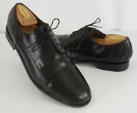 Mens Florsheim Broxton 11222 Cap Toe Oxfords Black Leather Shoes Size 10 D