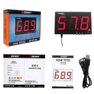 SNDWAY Digital Sound level meter 30~130db large LCD Digital Noise Measurement