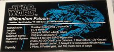 Star Wars Sticker for Lego® 75192 UCS Millenium Falcon precut Custom