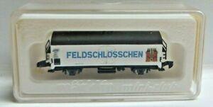 """Märklin Mini Club Z Gauge 8607 Beer Truck """" Feldschlösschen """" DB Boxed"""
