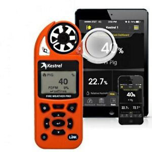 Kestrel 5500FW Fire Weather Meter Pro with LiNK (Bluetooth) - Authorized Dealer