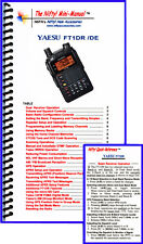 Yaesu Ft1Dr / Ft1Xdr Mini-Manual by Nifty Accessories