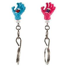 Santa Cruz x Kidrobot Screaming Hand Zipper Pull Keychain BLIND BOX new