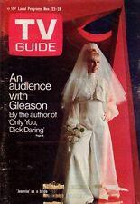 1969 TV Guide November 22 - I Dream of Jeannie Barbara Eden; Don Knott's Hippies