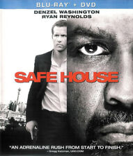 Safe House ~ Blu-ray + DVD + Digital Copy UltraViolet with Slipcover