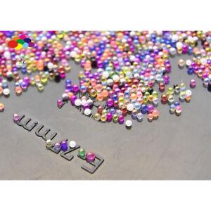 Multi-Color 100000 Pcs Glass small Beads No Hole 0.6mm-0.8mm Nail Art Caviar
