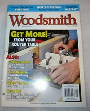 Woodsmith Woodworking Magazine Vol. 35/No. 210 Woodworking projects & advice
