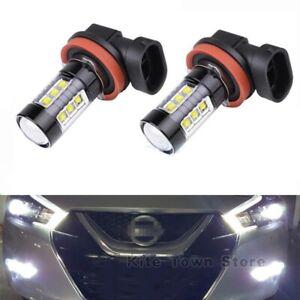 Fog Light For Nissan 2008-2014  Maxima Altima  H11 80W 6000k HID White LED Bulb