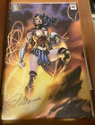 Jim Lee SIGNED Wonder Woman Poster