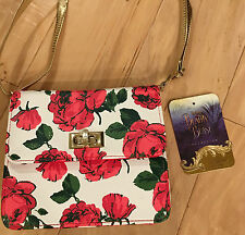 Belle Beauty And The Beast Live Action Film Purse Costume ROSE RED Disney